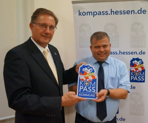 sicherheit ist eine gemeinsame aufgabe von polizei kommune und brgern neustadt hessen nimmt an der sicherheitsinitiative kompass teil - Polizei Bewerbung Hessen
